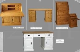 Bureaux et petits meubles