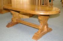 table monastère ovale