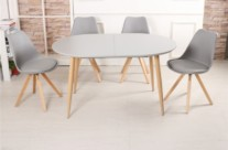 table scandinave avec allonges
