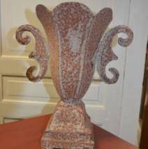 vase métal