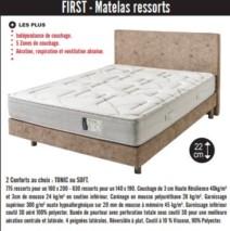 matelas First