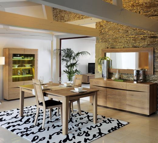 Deco Salle A Manger Rustique Moderne – Ciabiz.com