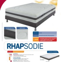 matelas rhapsodie bac confort int rieur. Black Bedroom Furniture Sets. Home Design Ideas